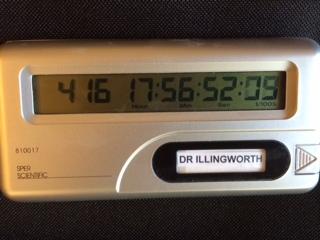 The countdown clock to my graduation!