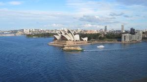 Sydney, Australia, from the Sydney Harbor Bridge