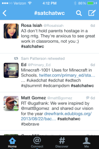 # Hashtag search
