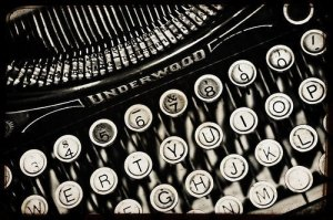 Source: http://www.etsy.com/listing/62635998/typewriter-photo-black-and-white-8x12