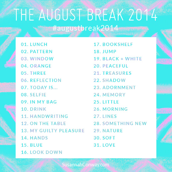August Break 2014 List