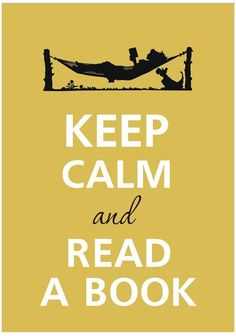 keep calm read