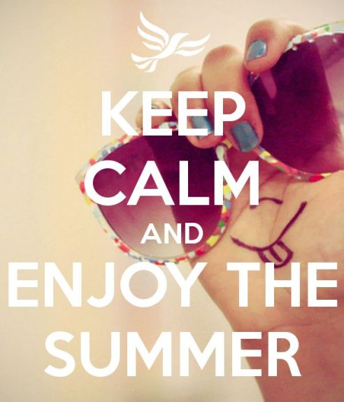 keep calm summer