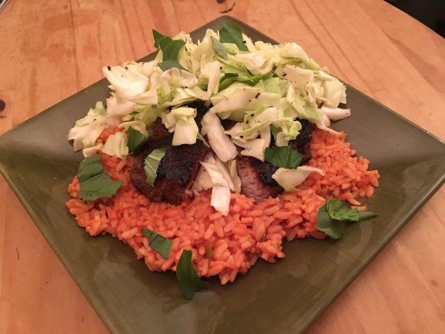 Steak and Tomato Rice