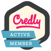 Credly member badge