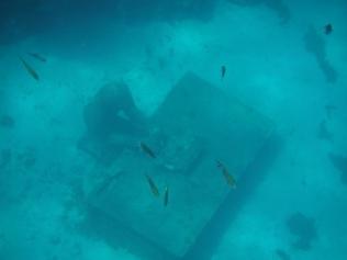 underwater desk